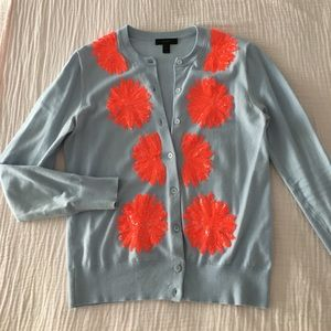 Jcrew cardigan with sequence detailing, size S